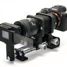 Er en belg med småbildeoptikk bedre egnet til å digitalisere film enn skannere? (Foto: Harri Hietala)