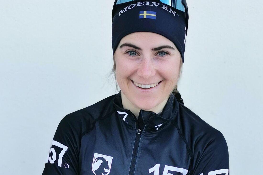 Ebba Andersson gör som landslagskompisen William Poromaa, debuterar i Visma Ski Classics på Vålådalsrennet i helgen. Ebba blir teamkompis med Britta Johansson Norgren i Lager 157 Ski Team. FOTO: Lager 157 Ski Team.
