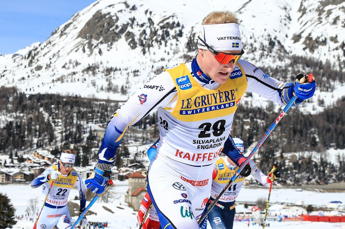 Jens Burman gör ett spännande inhopp i Visma Ski Classics när han står på startlinjen i Vålådalsrennet på lördag. FOTO: Mario Buehner, Gepa Pictures/Bildbyrån.