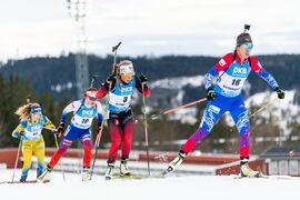 I eftermiddag avslutas skidskyttevärldscupen i Östersund med masstarter för både damer och herrar. FOTO: Joel Marklund/Bildbyrån.