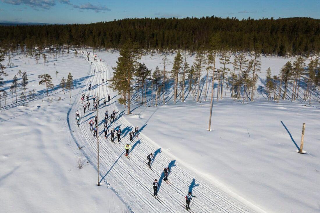 Vasaloppet 2022 fulltecknades när anmälan öppnades på söndagen. FOTO: Vasaloppet.