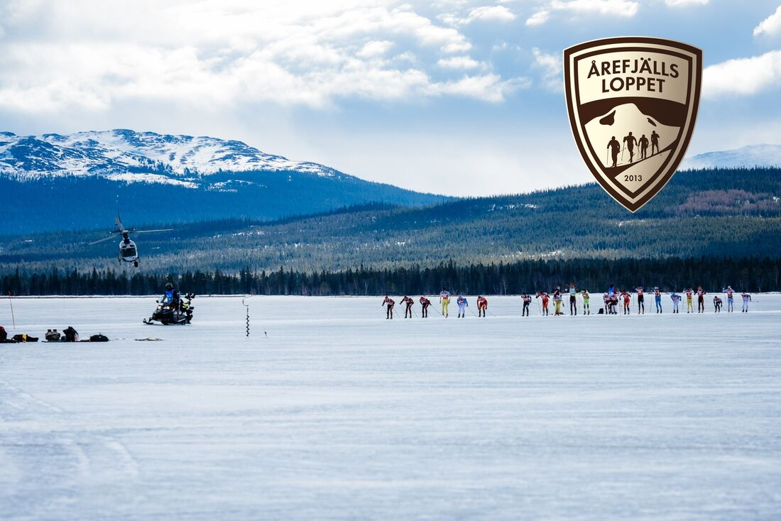 Tio mil långa Årefjällsloppet avslutar Visma Ski Classics säsong XI på lördag 27 mars. FOTO: Visma Ski Classics.