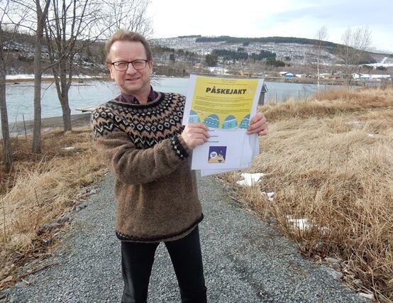 Ordfører Gisle Hansen med påskejakt