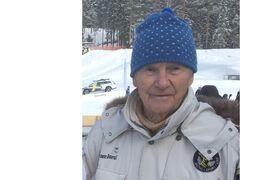 Lennart Lill-Järven Larsson, en stor profil inom svensk längdåkning, har gått ur tiden 91 år gammal. FOTO: Roland Edlund.