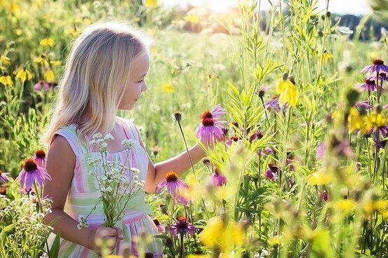 Bilde av jente hentet fra Pixabay