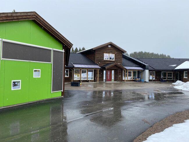 Bilde av Ranemsletta barnehage. Foto: Dagfinn Johansen