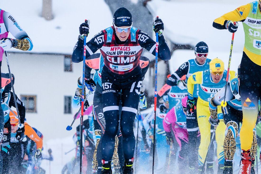 Andreas Holmberg har bestämt sig för att avsluta långloppskarriären. FOTO: Visma Ski Classics/Magnus Östh.