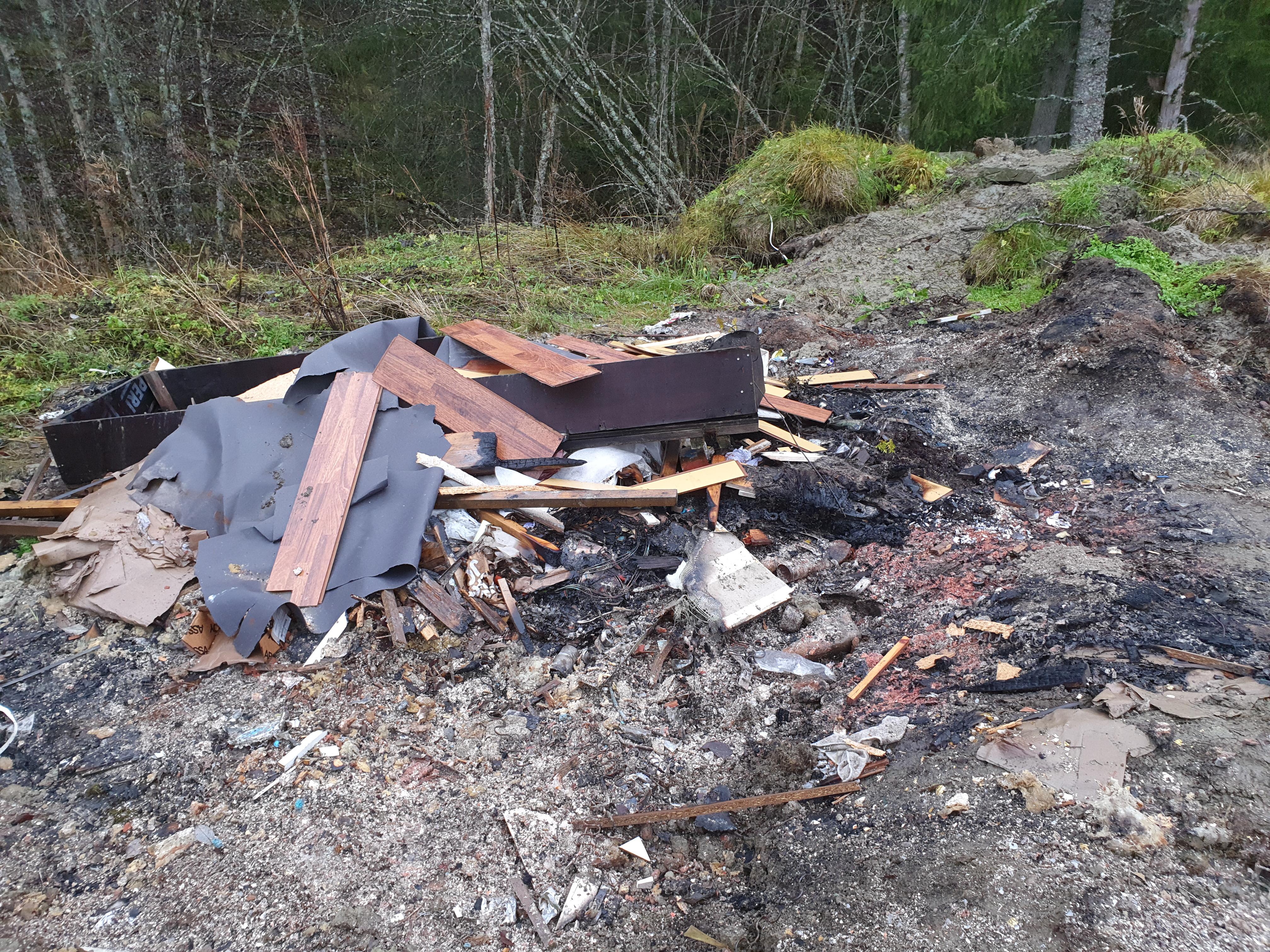 Brenning av avfall