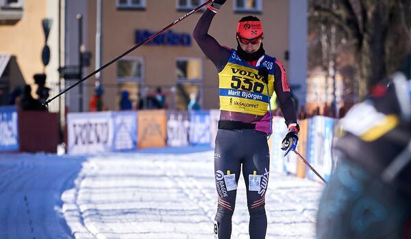 Marit Björgen satsar vidare på långlopp och är ute efter segrar när hon startar i fem lopp i Visma Ski Classics till vintern. FOTO: Visma Ski Classics/Magnus Östh.