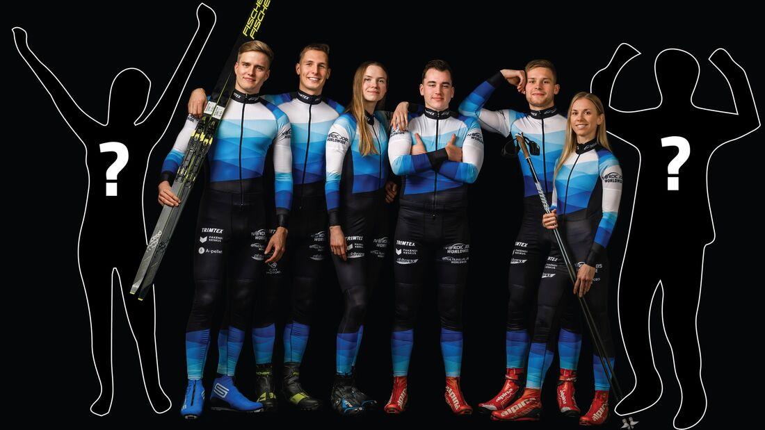 Estniska långloppslaget Team Nordic Jobs Worldwide söker nya åkare inför Visma Ski Classics säsong XII. FOTO: Team Nordic Jobs Worldwide.
