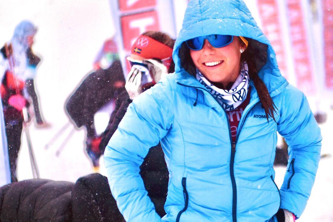 Ulricehamns IF:s Johanna Hagström är en av många längdåkare som är knuten till en av landets elitmiljöer, Dala Sports Academy i Falun. FOTO: Hans Olsson.