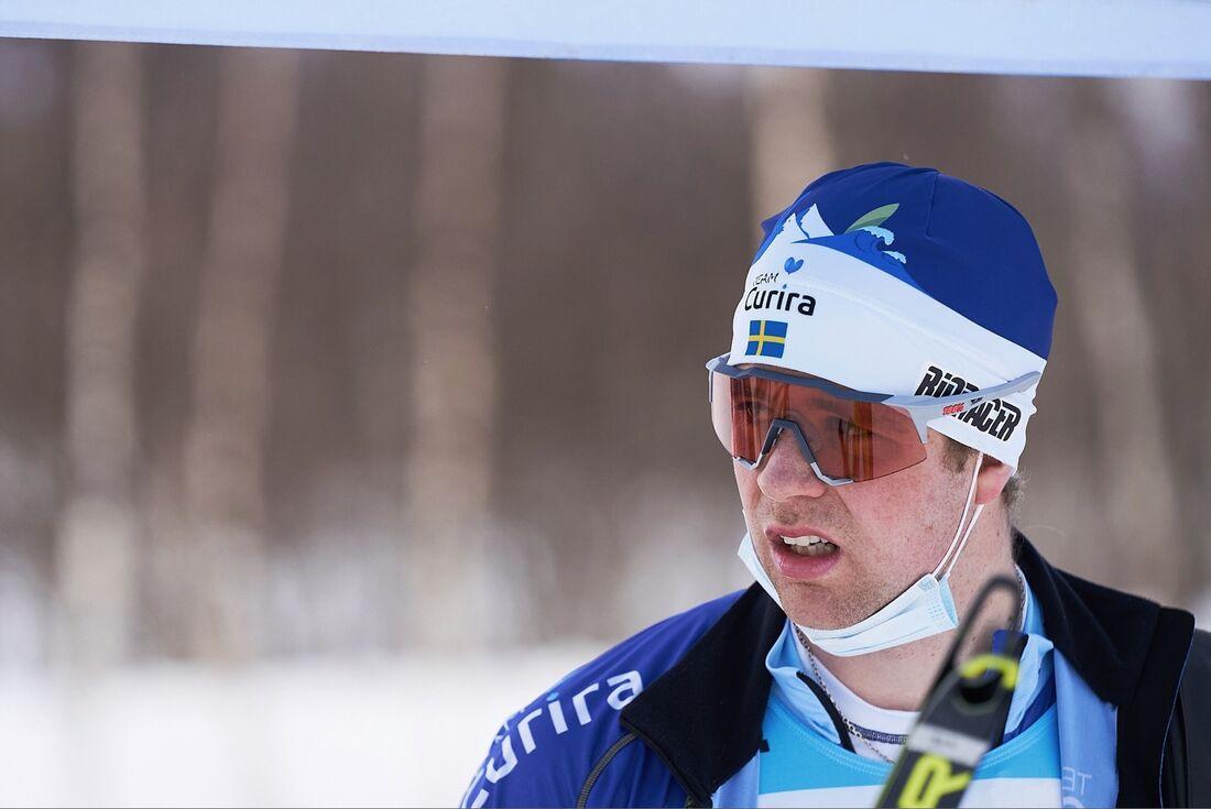 Johan Lövgren lämnar Team Curira men satsar mot Vasaloppet i sin klubb Vännäs SK. FOTO: Visma Ski Classics/Magnus Östh.