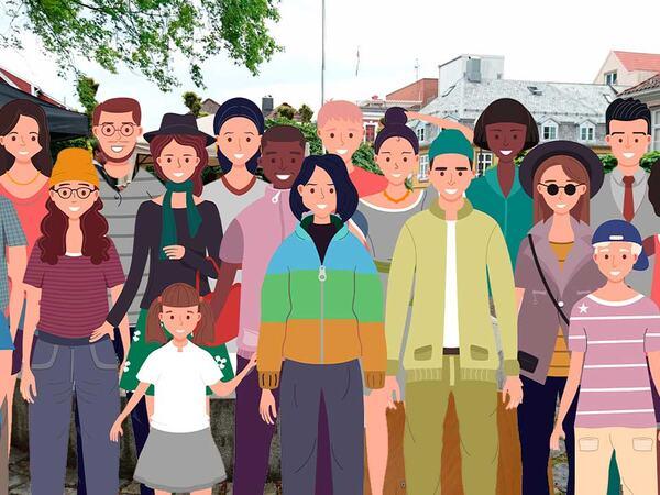 Befolkning i Strandgata