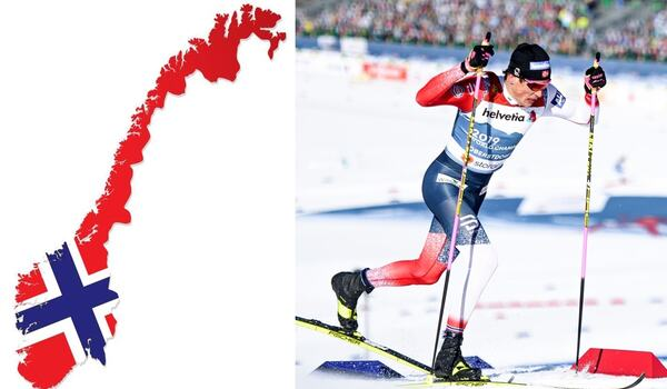 Vi gratulerar Norge på 17 maj. FOTO: Bilden på Johannes Hösflot Kläbo. Bildbyrån.