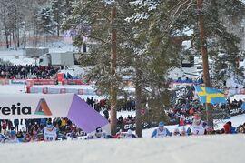I vinter kan det bli mixedstafett på programmet vid världscupen i Falun. FOTO: Johan Trygg/Längd.se.