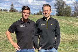 Oskar Kardin och Jerry Ahrlin är peppade för en ny säsong med träningskonceptet Team XC Gold.