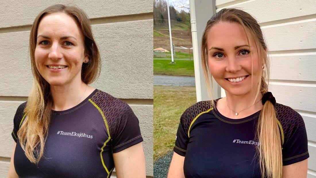Linn Sömskar och Hedda Bångman åker Visma Ski Classics Pro Tour för nya Team Eksjöhus i vinter. FOTO. Team Eksjöhus.