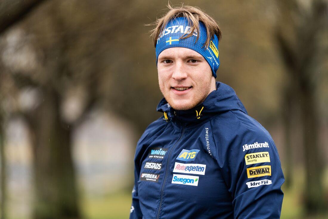 Sebastian Samuelsson kommer lägga mycket tid på hög höjd inför OS i Peking. FOTO: Nicklas Olausson.