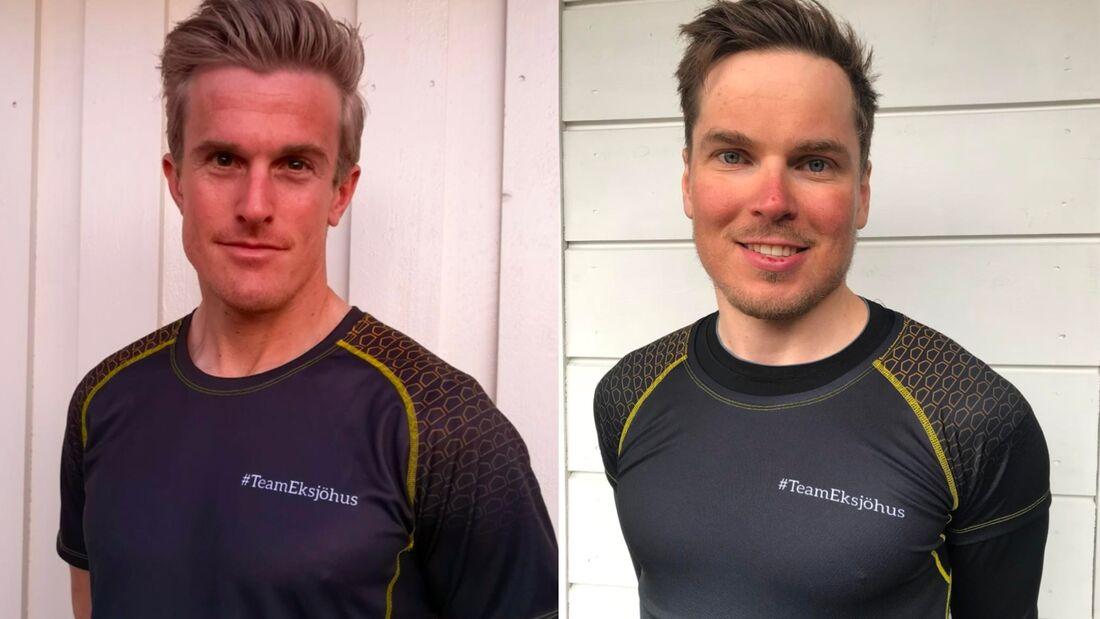 Morten Eide Pedersen och Ari Luusua åker för nya Team Eksjöhus kommande säsong. FOTO: Team Eksjöhus.