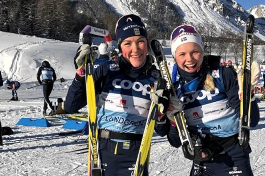 Inför OS-vintern 2021/2022 ingår kommer längdlandslaget träna på rullskidor från Swenor. FOTO: Svenska Skidförbundet.
