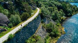 Turveien mellom Eigersund og Hellvik