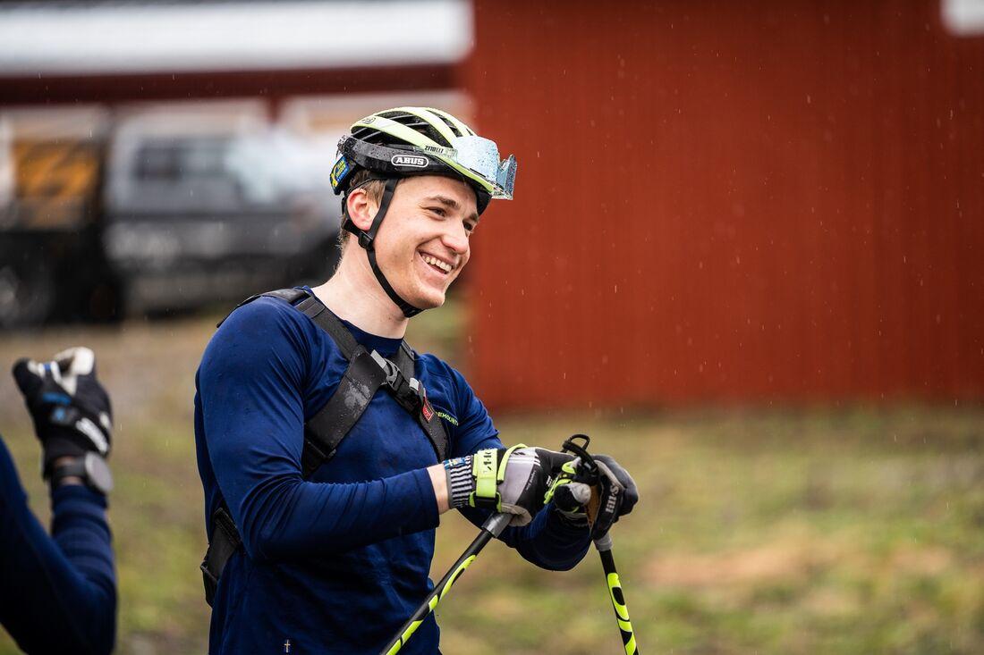Martin Ponsiluoma ser fram emot OS-vintern och möjligheten att ta nya medaljer. FOTO: Nicklas Olausson.