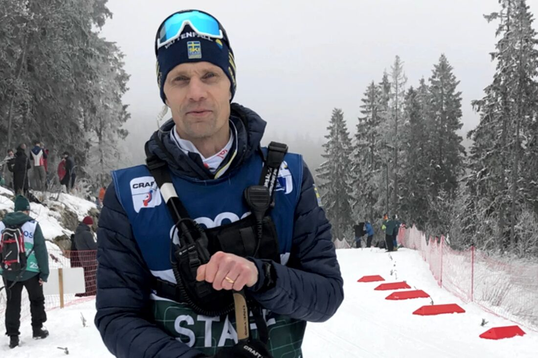 Daniel Fåhraeus, längdchef på Svenska Skidförbundet, vill se ökad jämställdhet inom längdskidsverige. FOTO: Svenska Skidförbundet.