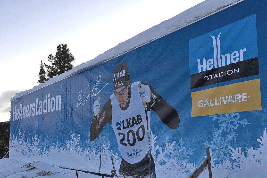 Gällivare står som värd för den nationella längdpremiären 2021. 19–21 november drar längdsäsongen officiellt igång vid Hellnerstadion. FOTO: Johan Trygg/Längd.se.