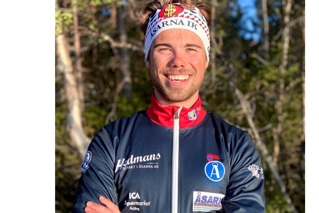 Gustav Kvarnbrink byter klubb från IFK Umeå till Åsarna IK. FOTO: Åsarna IK.