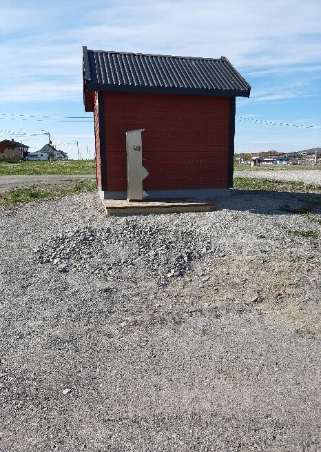 Tømmeautomat - plassering