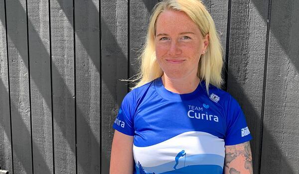 Emma Dahlgren har fått rollen som tränare och coach hos hårdsatsande långloppslaget Team Curira. FOTO: Johan Trygg/Längd.se.