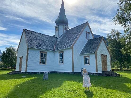 Rørstad kirke, foto Håvard Skogvoll