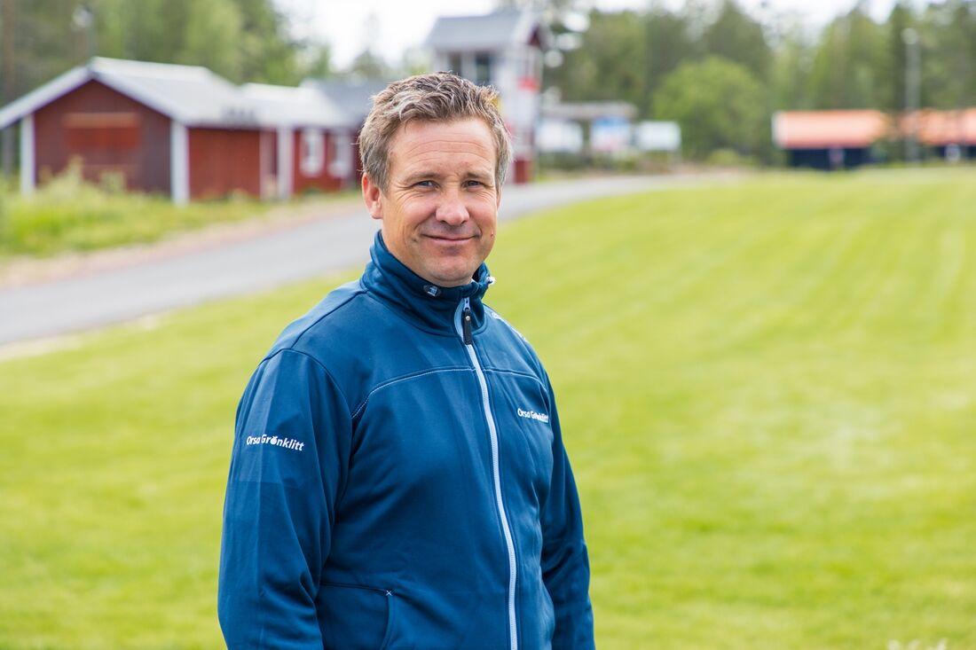 Den tidigare vallachefen i det svenska längdlandslaget, Urban Nilsson, blir sportchef i Orsa Grönklitt. FOTO: Orsa Grönklitt.