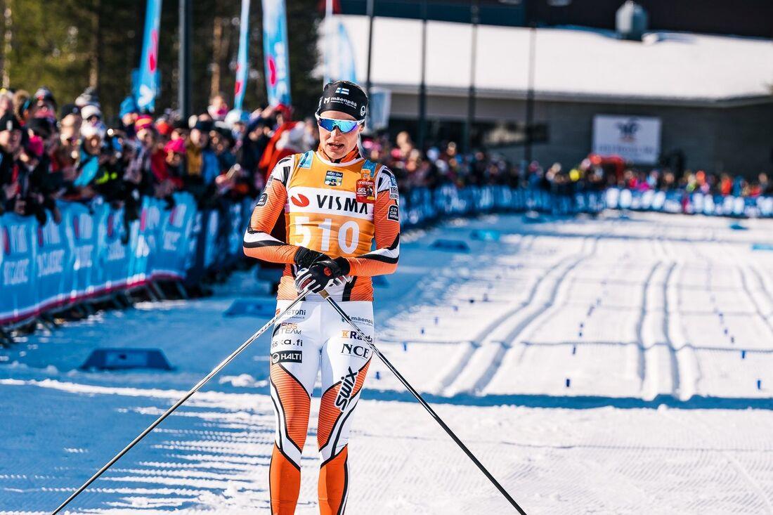 Anne Kyllönen förstärker Team Mäenpää kommande säsong. FOTO: Visma Ski Classics/Magnus Östh.