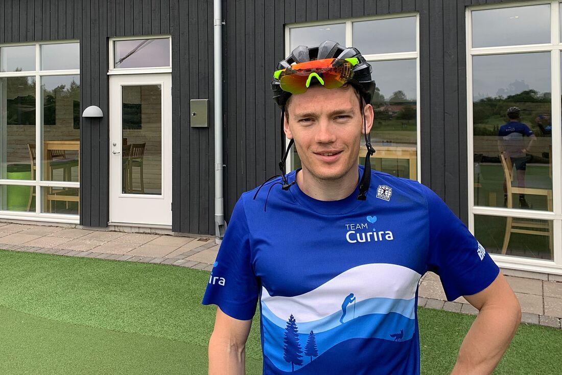 Stian Hoelgaard har börjat förberedelserna för Visma Ski Classics säsong XII i sitt nya svenska lag, Team Curira. FOTO: Johan Trygg/Längd.se.