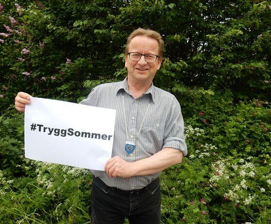 Gisle Hansen ønsker god sommer