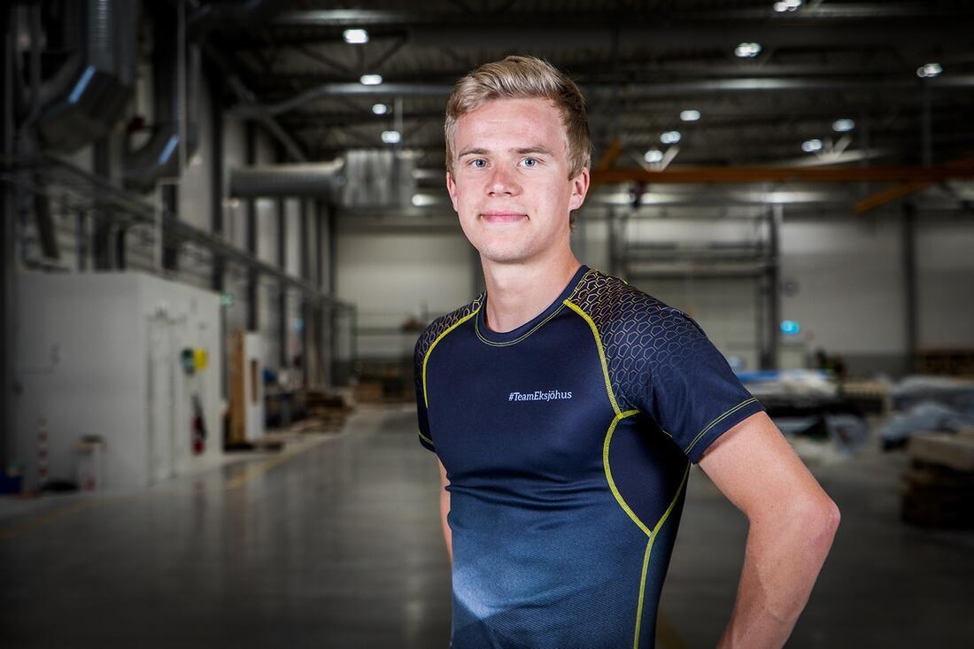 Den unge moraåkaren Axel Jutterström satsar på långlopp i Team Eksjöhus. FOTO: Team Eksjöhus.