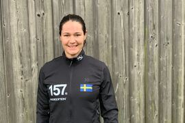 Britta Johansson Norgren har motivationen på topp inför kommande vinter. FOTO: Johan Trygg/Längd.se.