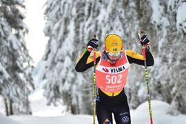 Lina Korsgren toppar Visma Ski Classics SC Ranking före Emil Persson. FOTO: Björn Reichert/Nordic Focus.