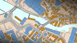 Kart i sentrum