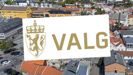 Valglogo i sentrum