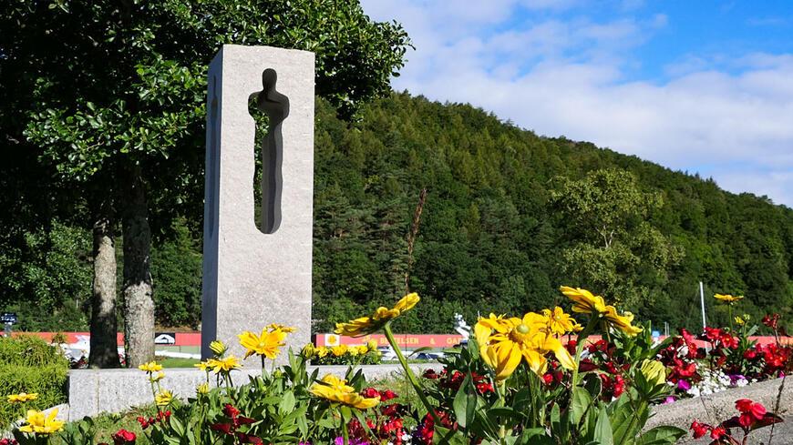 22. juli-monumentet i Egersund
