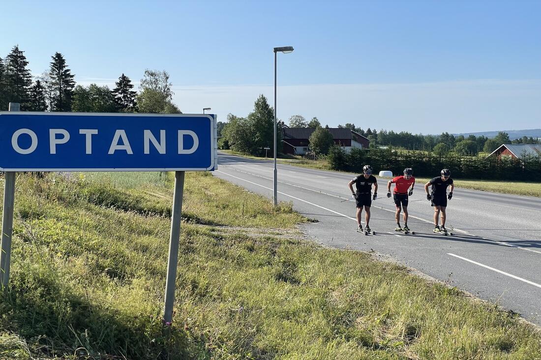 Tre starka killar från lilla Optand utanför Östersund FOTO: Anton Karlsson / Längd.se