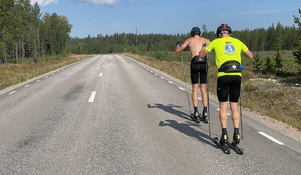 Jens och William jagar nya mästerskapsmedaljer till Åsarna FOTO: Anton Karlsson / Längd.se