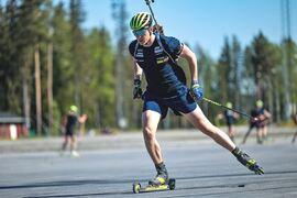 Martin Ponsiluoma har haft full gas i träningen hela sommaren i sin OS-uppladdning. FOTO: Håkan Blidberg.