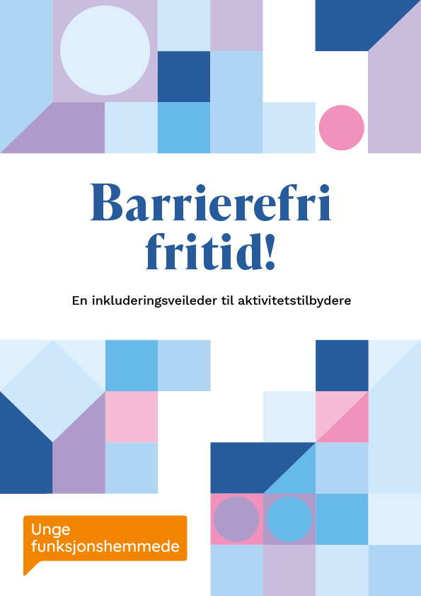 Omslagsbildet til veileder om barrierefri fritid