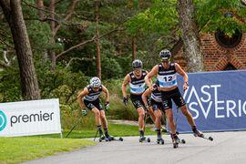 Både herrar och damer åker 15 kilometer i klassisk stil i Trollhättan på torsdagseftermiddagen. FOTO: Trollhättan Action Week.