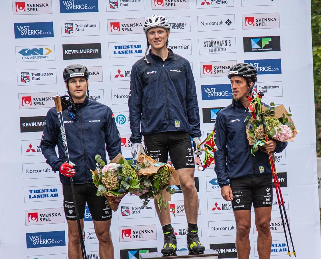 I fjol vann Oskar Svensson före Marcus Grate och Calle Halfvarsson. FOTO: Trollhättan Action Week.