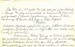 HAsvik Landretts protokoll artikkelbilde