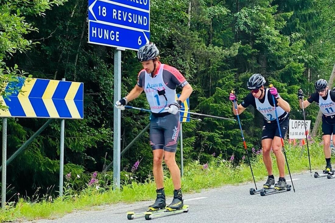 Oskar Kardin har missat flera rullskidlopp i sommar efter en vurpa på träning. Nu är dock Kardin i full träning i igen och ser fram emot vintern.